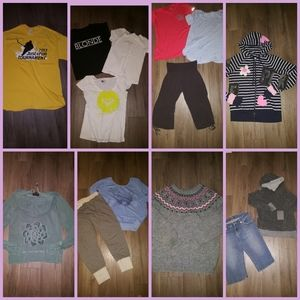 14 Women clothing mix sizes S to Large. good shape
